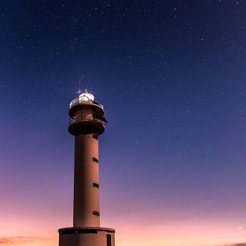 Cassiopeia's lighthouse