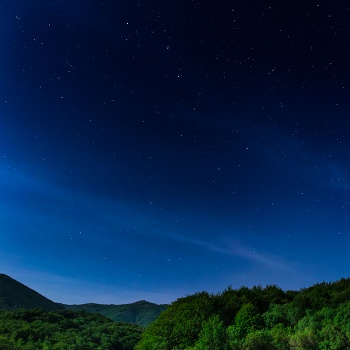 One night in Montseny
