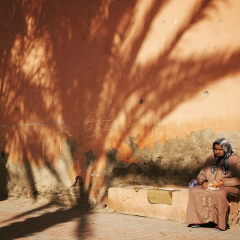Woman under shadow | 2010 | Essaouira, Morocco