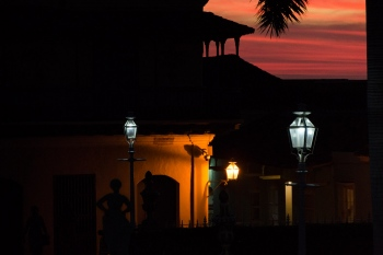 sunset in Trinidad Cuba, workshops of photography in cuba by louis alarcon