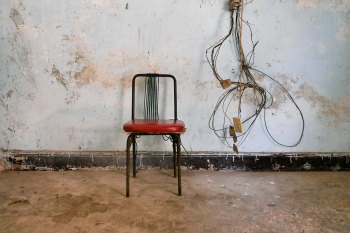 chair in havana 6 , photography tour by louis alarcon