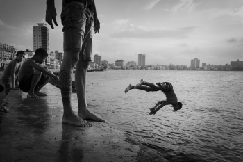 landscape of malecon of havana in my photography tour cuban