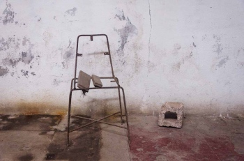 chair in havana 2 , photography tour by louis alarcon