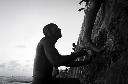 getting away from malecon of havana , photos in my workshops of photography in Cuba.