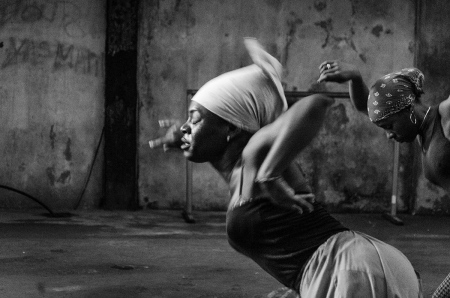 Dancer in trance in Cuba during my photo guided sessions in Cuba