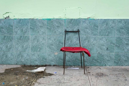 chair in havana 4 , photography tour by louis alarcon