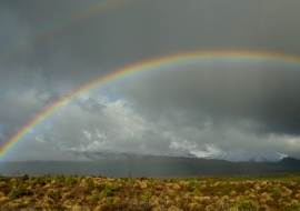 Rainbow, Tongariro National Park