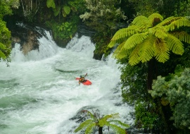 Rafting at Okere Falls, Rotorua, Bay of Plenty