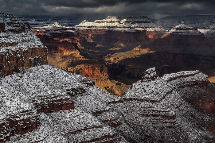WINTER-GRAND CANYON-USA